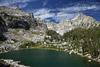 Amphitheatre Lake and Mountains
