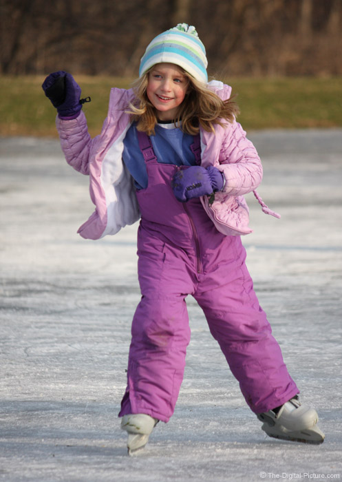Outdoor Ice Skating Picture