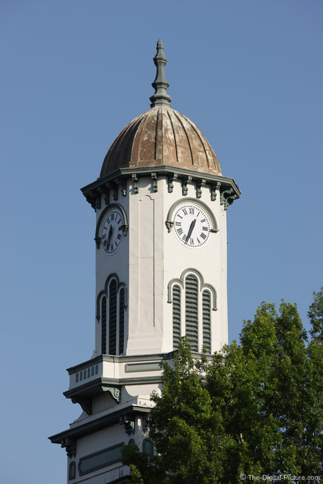 Town Clock Picture