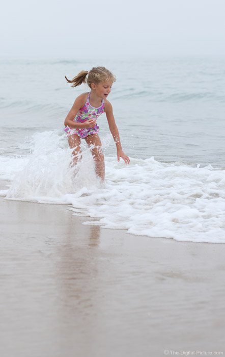 Splashing in the Surf