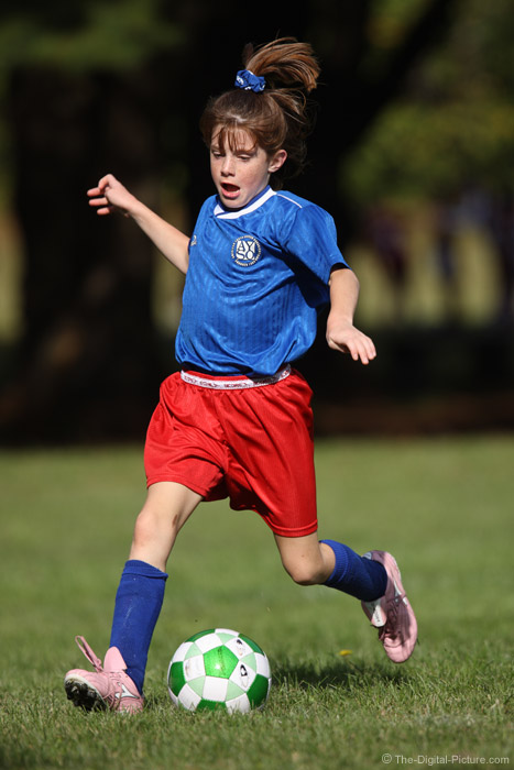 Morning Soccer Action