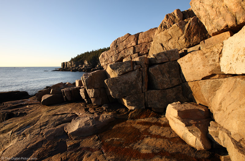 Boulders at Otter Cliff, Acadia National Park