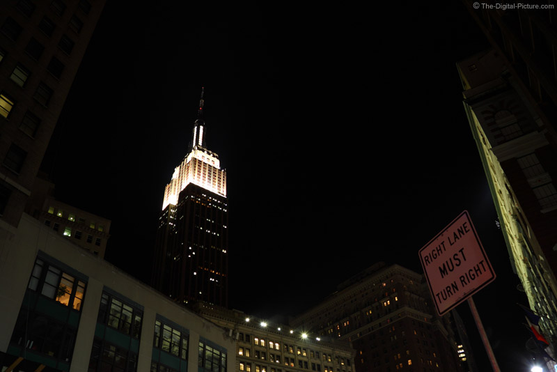 The Empire State Building - 1/2 Sec Handheld