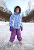 Upright Ice Skating