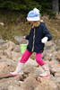 Rock Hopping in Wellies