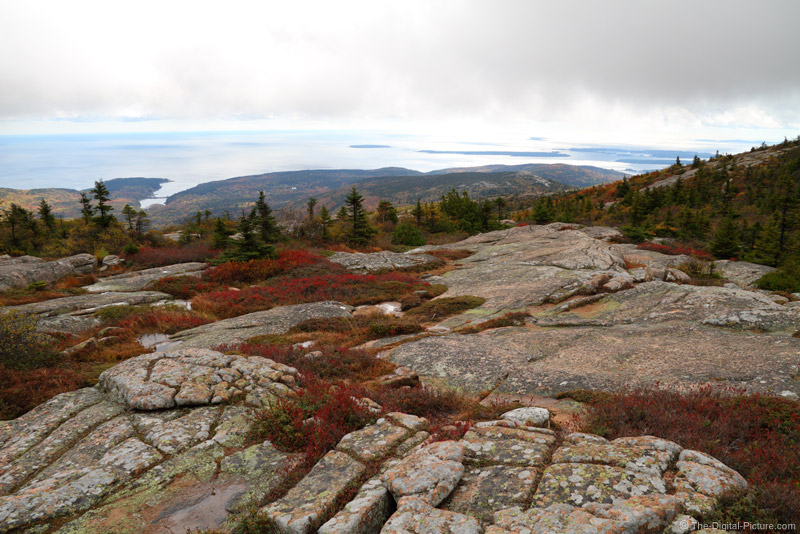 Low Clouds on Cadillac Mountain