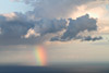 Rainbow Over Atlantic Ocean