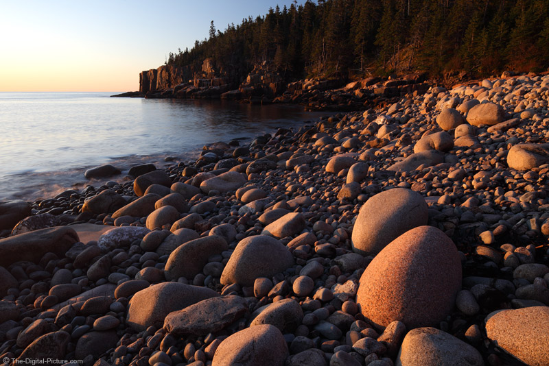 Round Rocks and Otter Point Picture