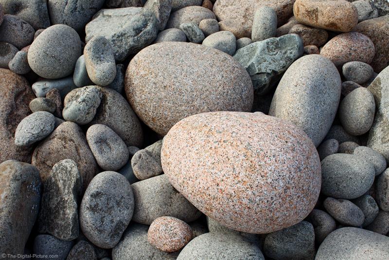 Round Pink Granite Rock