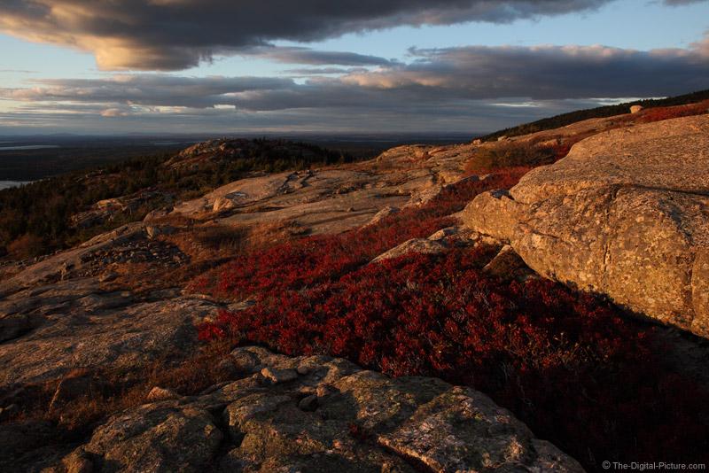 Parkman Mountain at Sunset