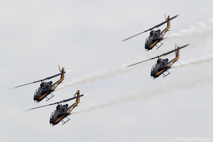 Sky Soldiers Cobra Demonstration Team