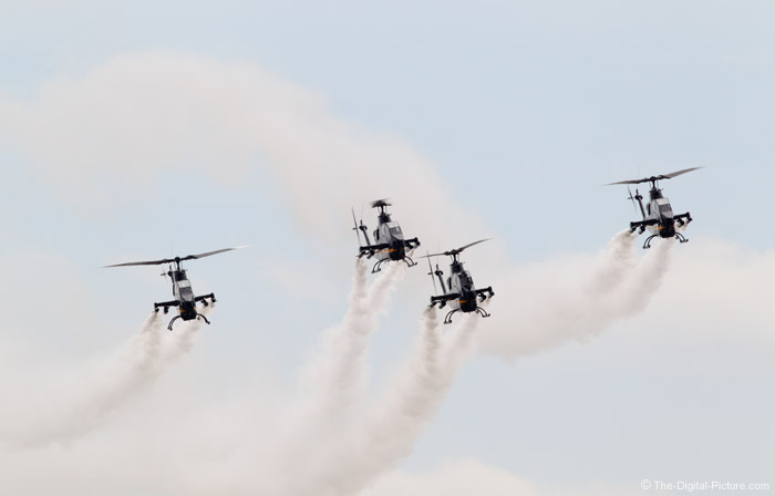 US Army Sky Soldiers Cobra Demonstration Team