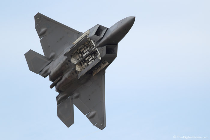 F-22 Raptor with Bomb Doors Open