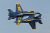 Blue Angels Knife-Edge Pass