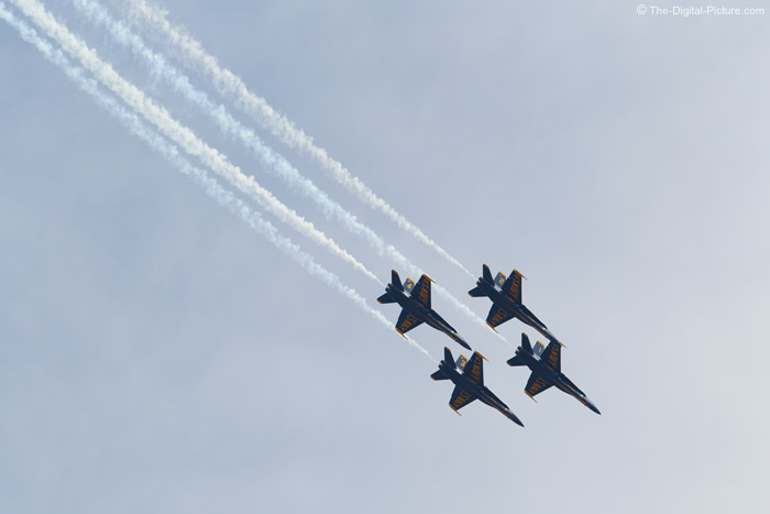 Blue Angels Flying Diamond Pattern