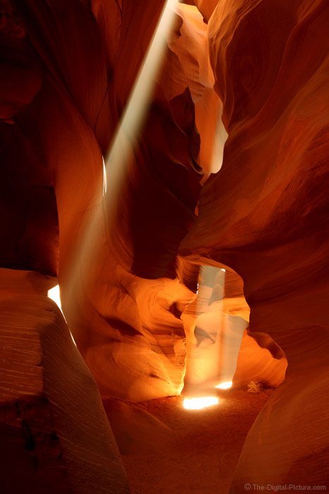 Light Beams in Upper Antelope Canyon