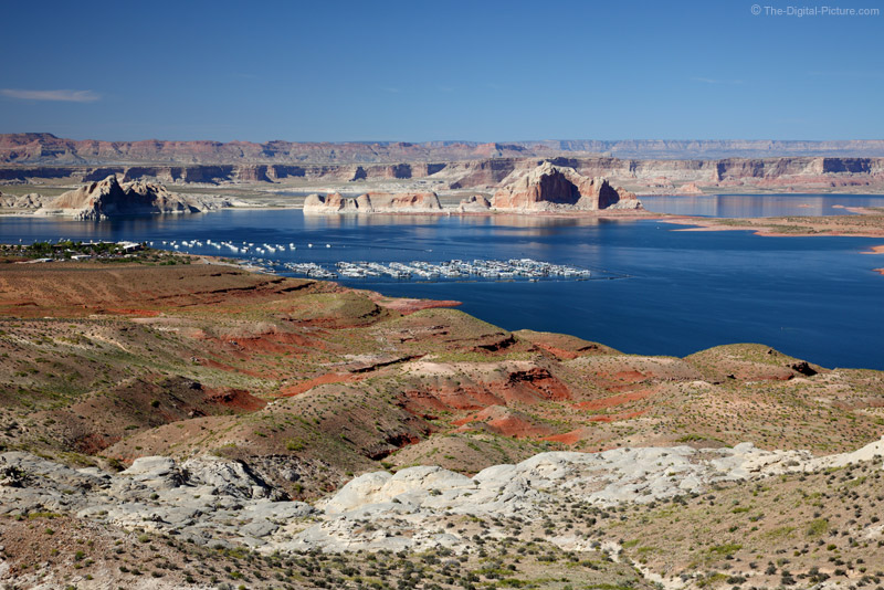 Lake Powell from Viewpoint Near Dam