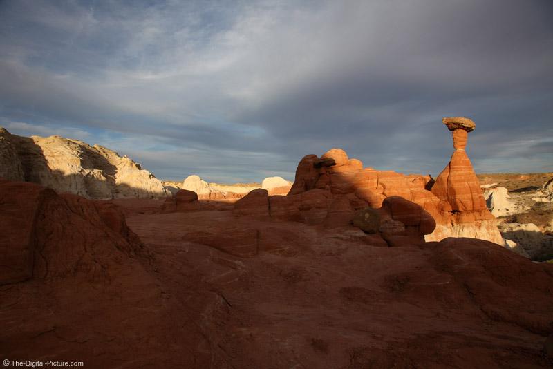 Toadstool Hoodoo Landscape