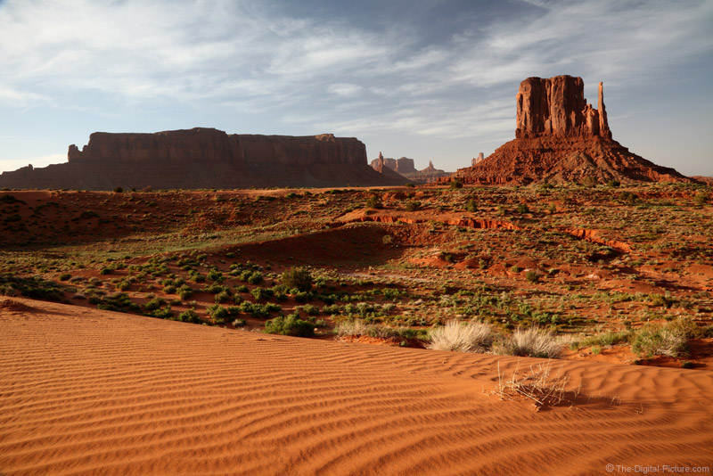 Sand Dune and West Mitten, Monument Valley