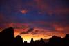 Sunset Over Devils Garden, Arches National Park