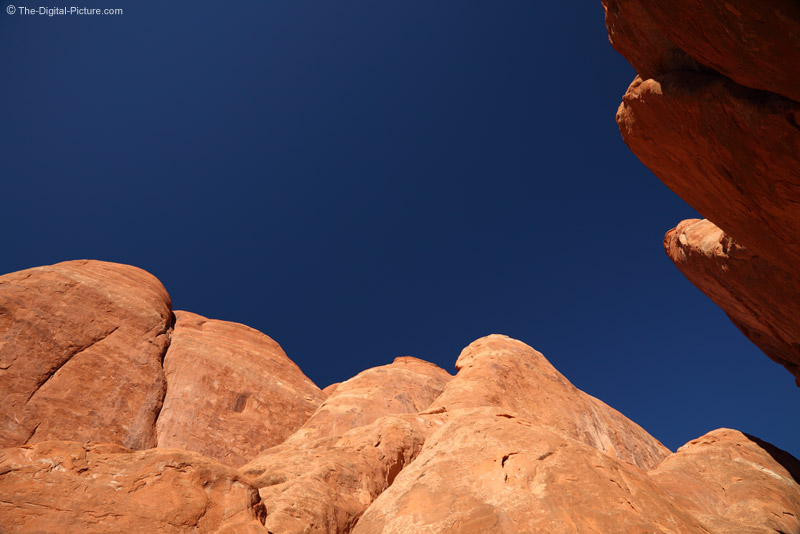 Rock Tops near Sand Dune Arch, Arches NP