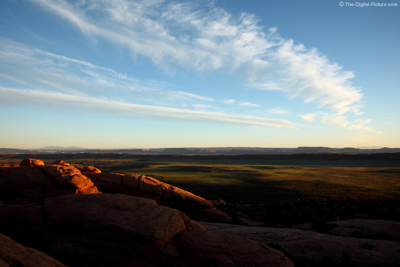 The Sun Sets on Arches National Park's Salt Valley