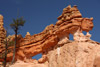 Dragon-like Rocks in Bryce Canyon National Park