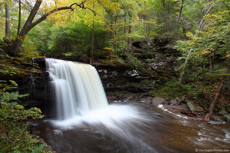 Harrison Wright Falls, Ricketts Glen SP