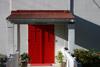 Red Church Doors
