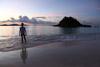 Sunset Swim at Trunk Bay, St. John