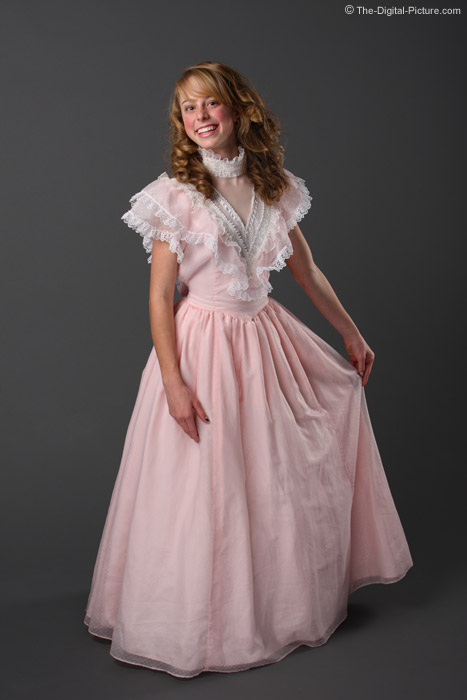 Young Lady Playing Dress-up