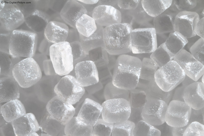 Table Salt at 3x Magnification