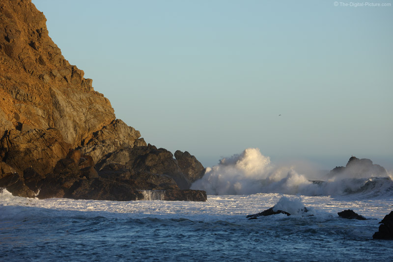 Waves Crashing on Rocks at Pfeiffer Beach, Big Sur