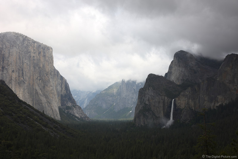 Yosemite Valley Storm from Tunnel View