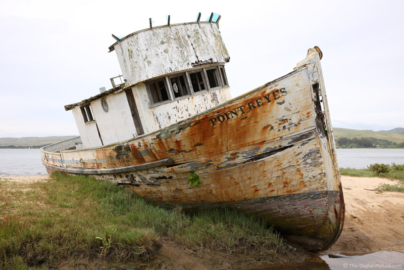 Shipwrecked at Point Reyes National Seashore