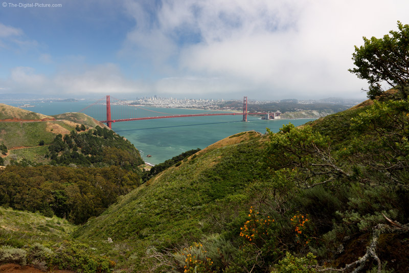 Golden Gate Bridge Divide