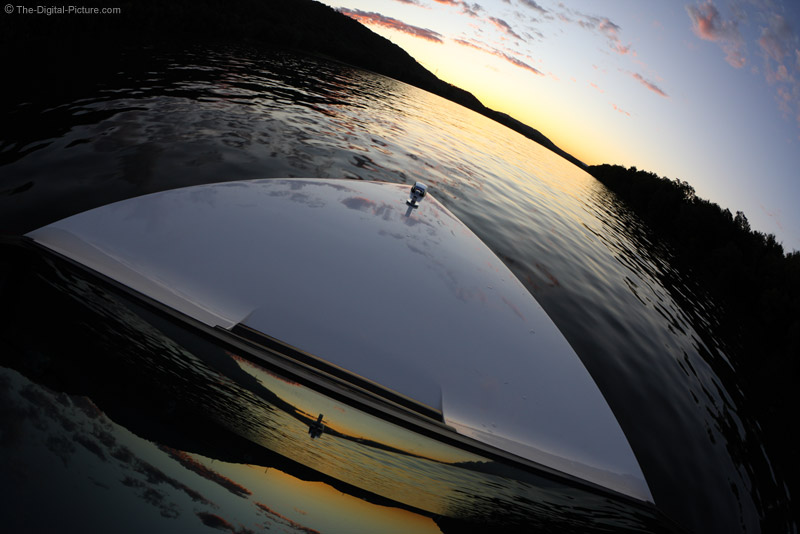 Reflections on a Boat