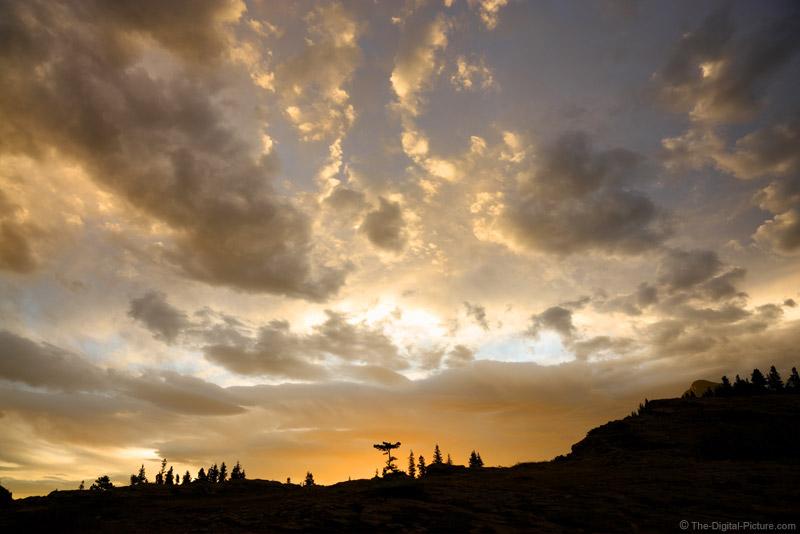 Sunrise Near Swiftcurrent Lake, Glacier National Park