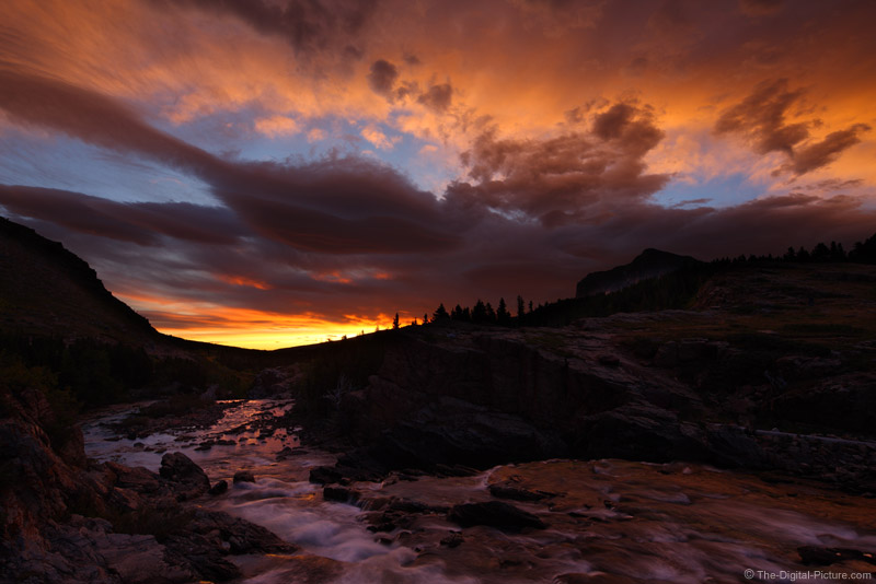 Swiftcurrent Creek Sunrise, Glacier NP