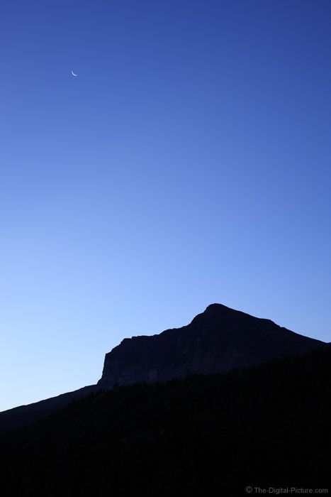 Moonrise Over Glacier National Park