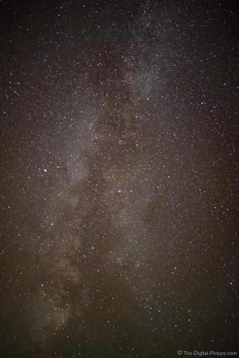 Milky Way, Glacier National Park