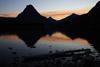 Sunset over Two Medicine Lake, Glacier National Park