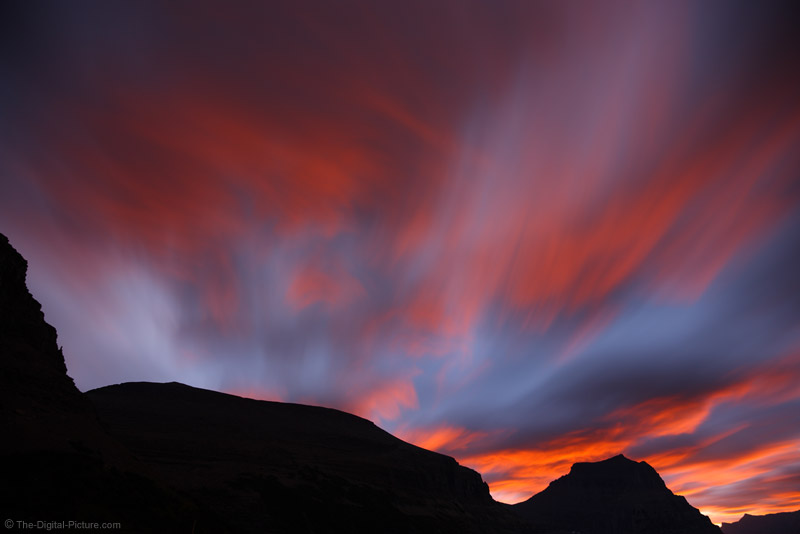 Sunrise at Logan Pass, Glacier National Park