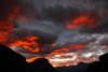 Fiery Logan Pass Sunrise, Glacier National Park