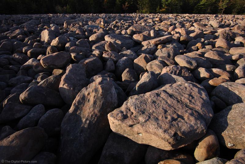 Boulders at Hickory Run