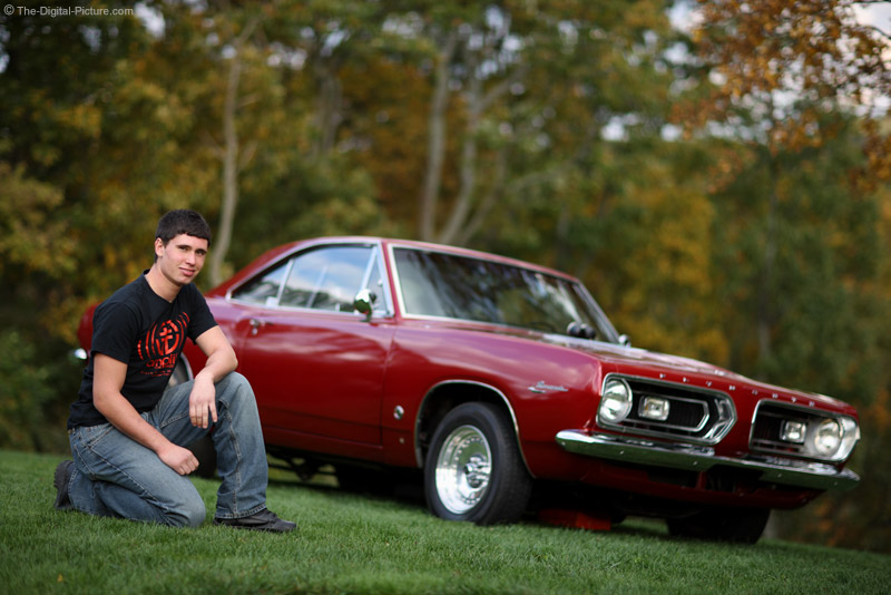 A Boy and a Muscle Car