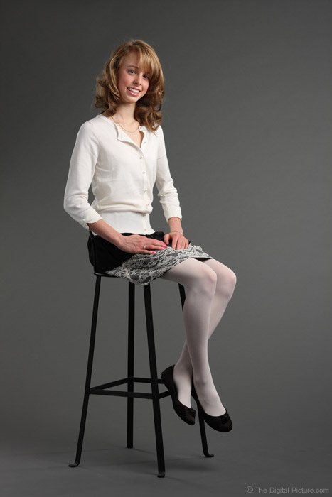 85mm Full Body Studio Portrait