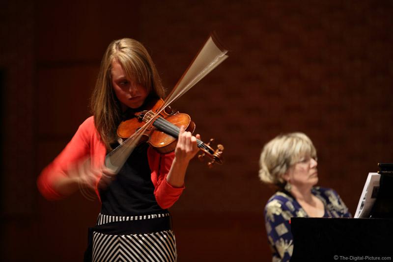 Violin Recital Action
