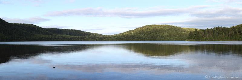 Big Black Pond, T15 R9, Maine