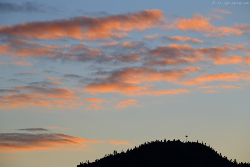 Sunset Over Deboullie Mountain Fire Tower